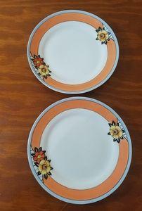 Vintage Noritake Plates, Set of 2